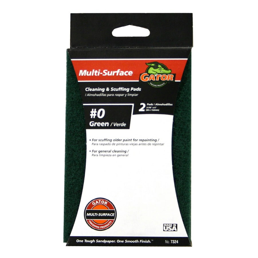 Gator 3.88-in x 6-in Medium Steel Wool