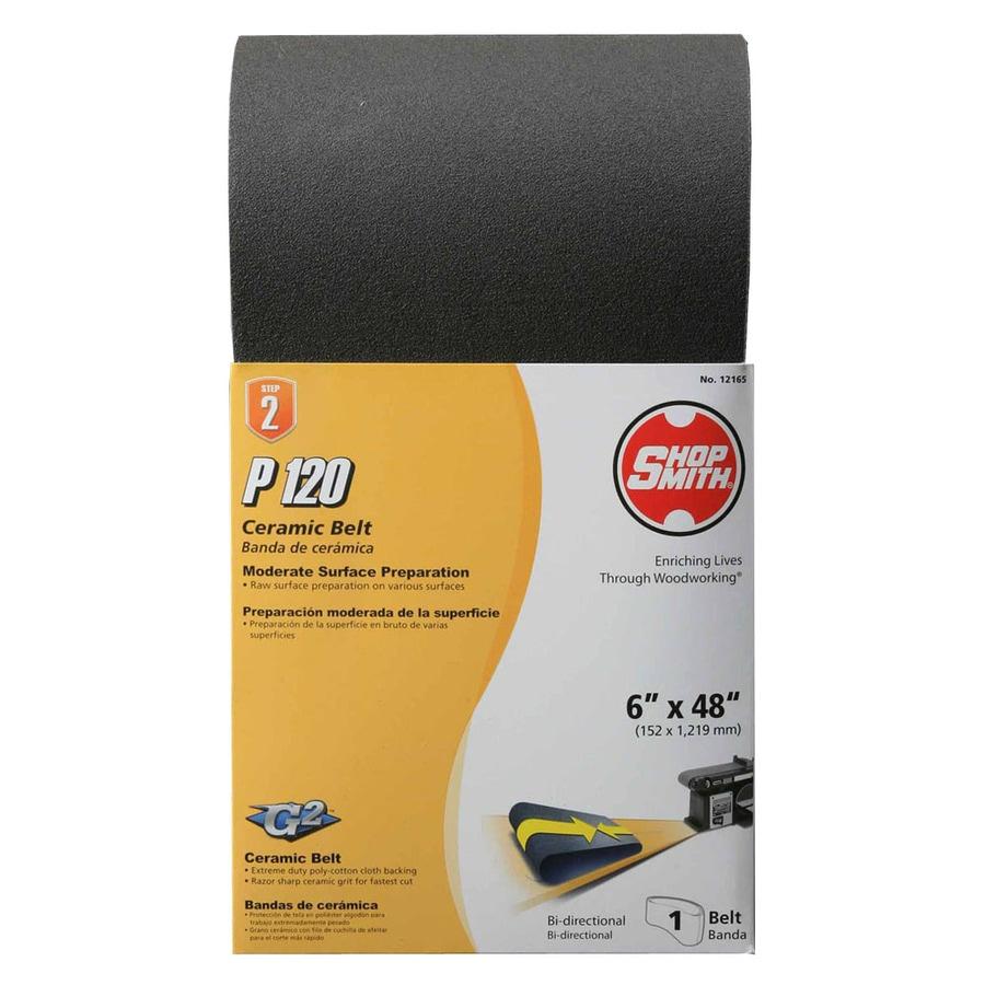Shopsmith 6-in W x 48-in L 120-Grit Commercial Sanding Belt Sandpaper