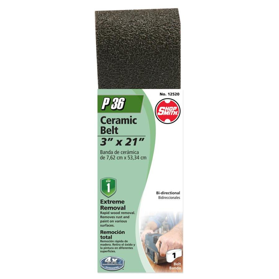 Shopsmith 3-in W x 21-in L 36-Grit Commercial Sanding Belt Sandpaper