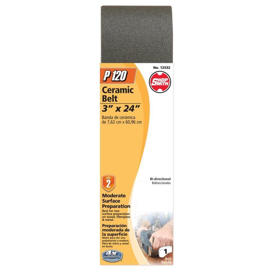 Shopsmith 3-in W x 24-in L 120-Grit Commercial Sanding Belt Sandpaper