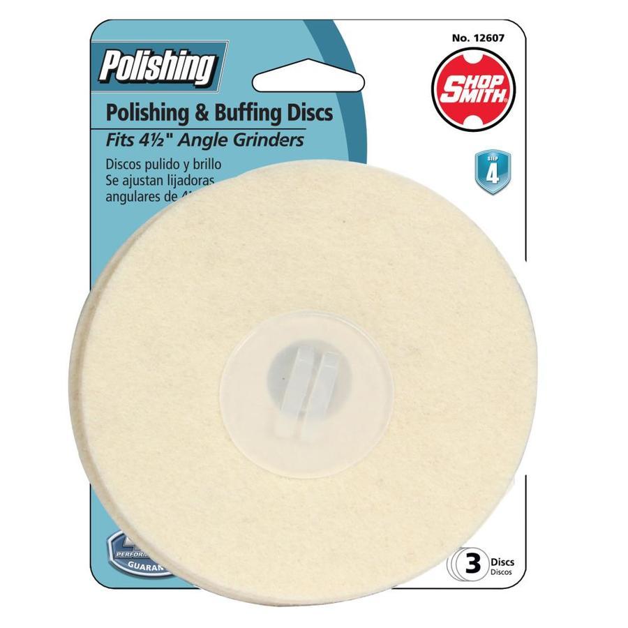 Shopsmith Shopsmith 4-1/2-in Polishing Pad 3 Pack