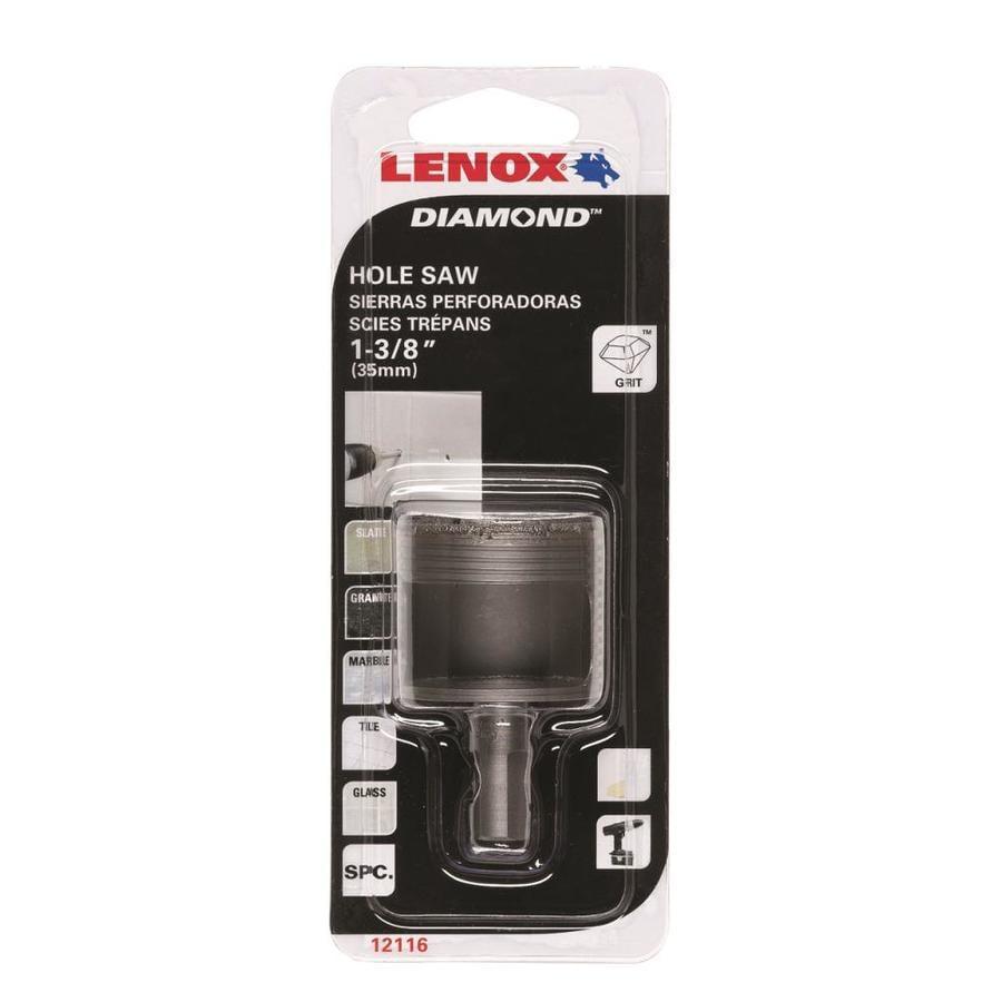 LENOX 1-3/8-in Diamond Arbored Hole Saw
