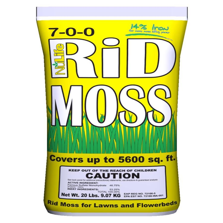 NuLife 20-lbs Granulaur Moss & Algae Control Resealable Bag