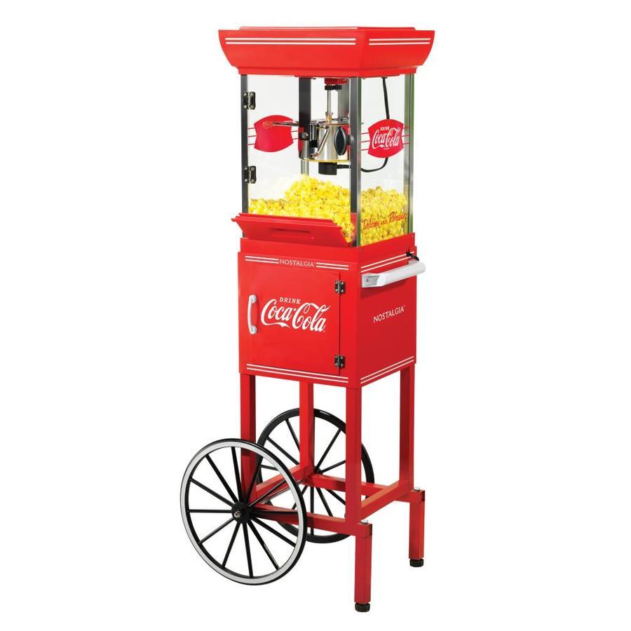 Nostalgia Electrics 0.25-Cup Oil Popcorn Maker Cart