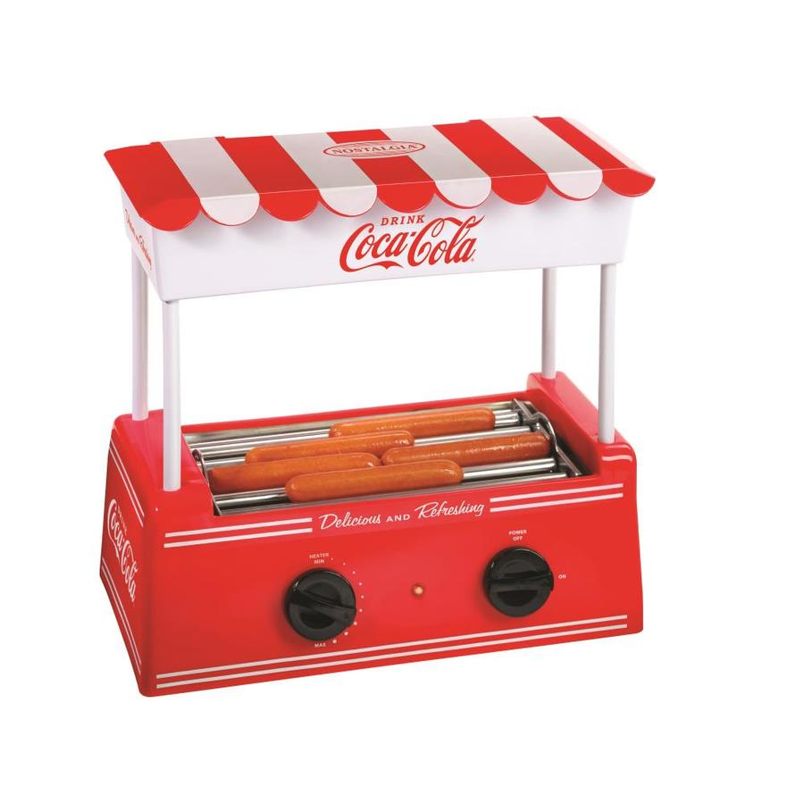 Nostalgia Electrics Coca-Cola Series HDR565Coke Old Fashioned Hot Dog Roller