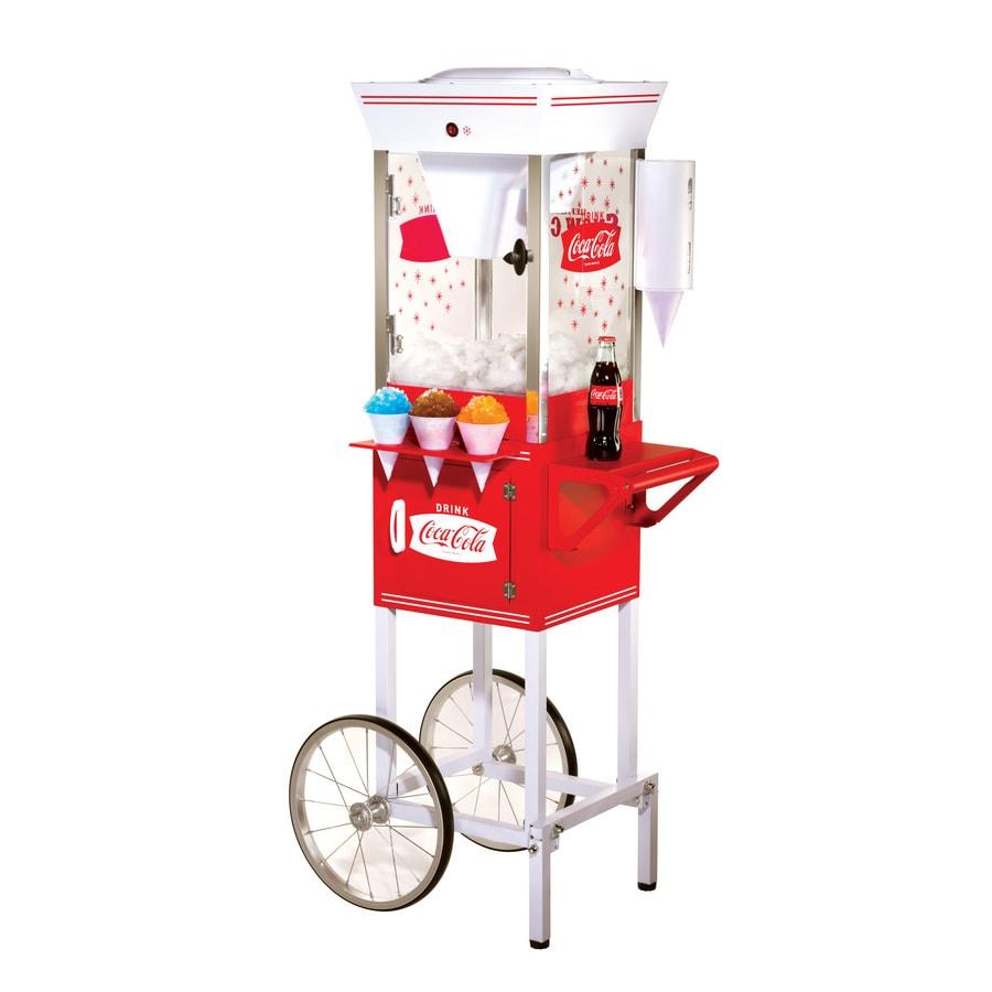 Nostalgia Electrics Coca Cola Old Fashioned Snow Cone Cart