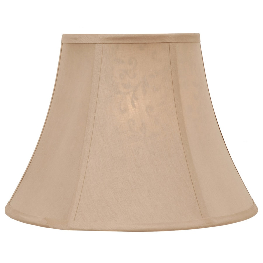 Portfolio 11-in x 15-in Gold Bell Lamp Shade