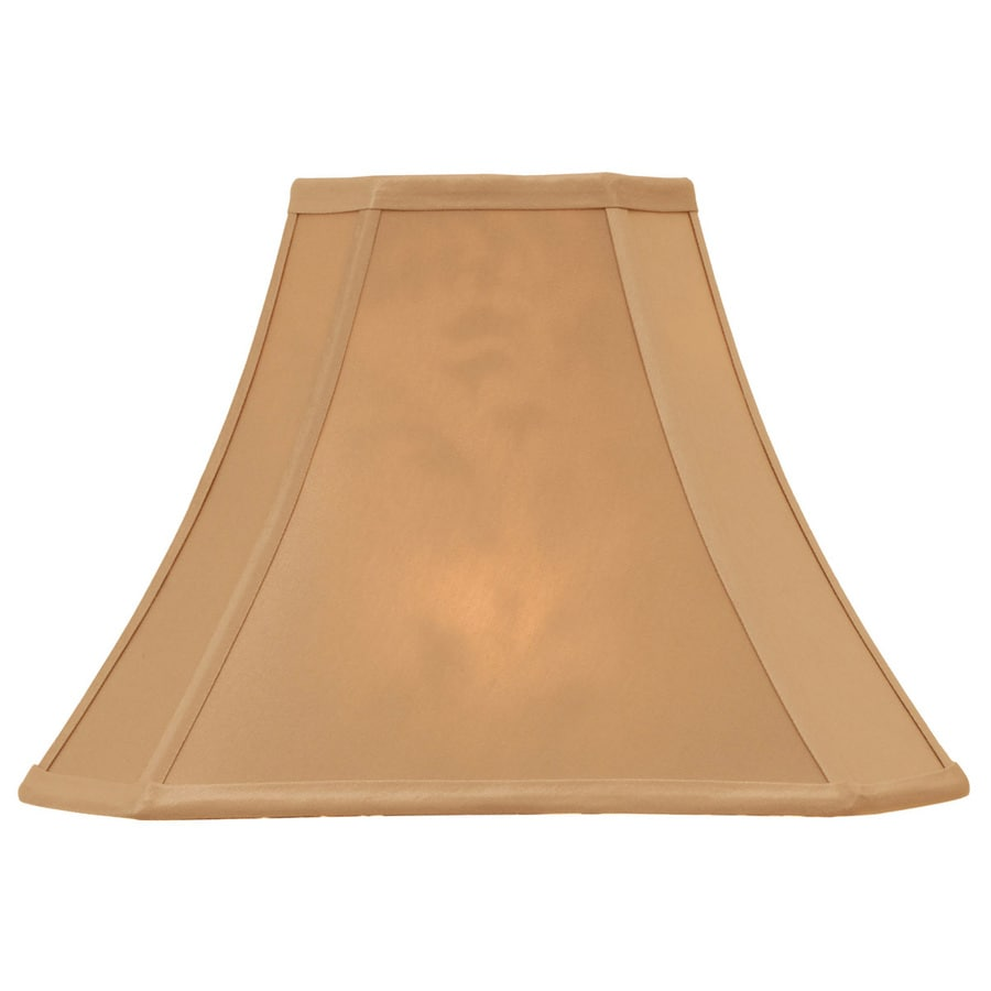 Portfolio 12-in x 16-in Taupe Bell Lamp Shade