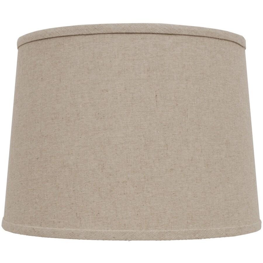 Portfolio 10-in x 14-in Beige Drum Lamp Shade