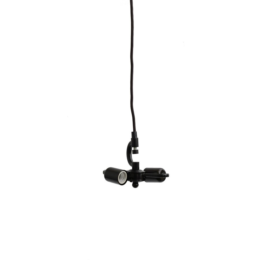 shop allen roth bronze metal swag light kit with cord at