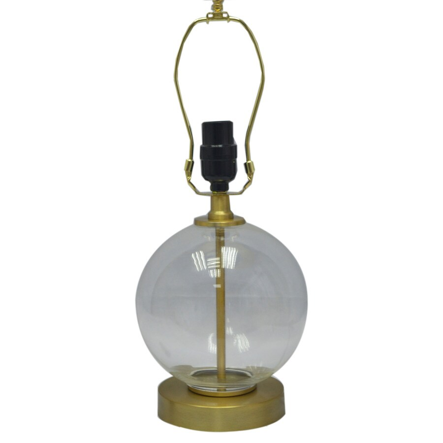 allen + roth 11.75-in Clear Lamp Base