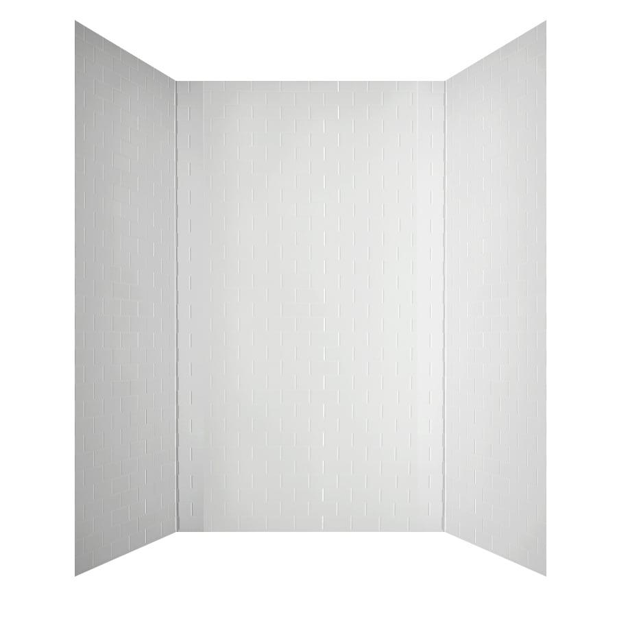 Shop Mirroflex Subway White Fiberglass And Plastic