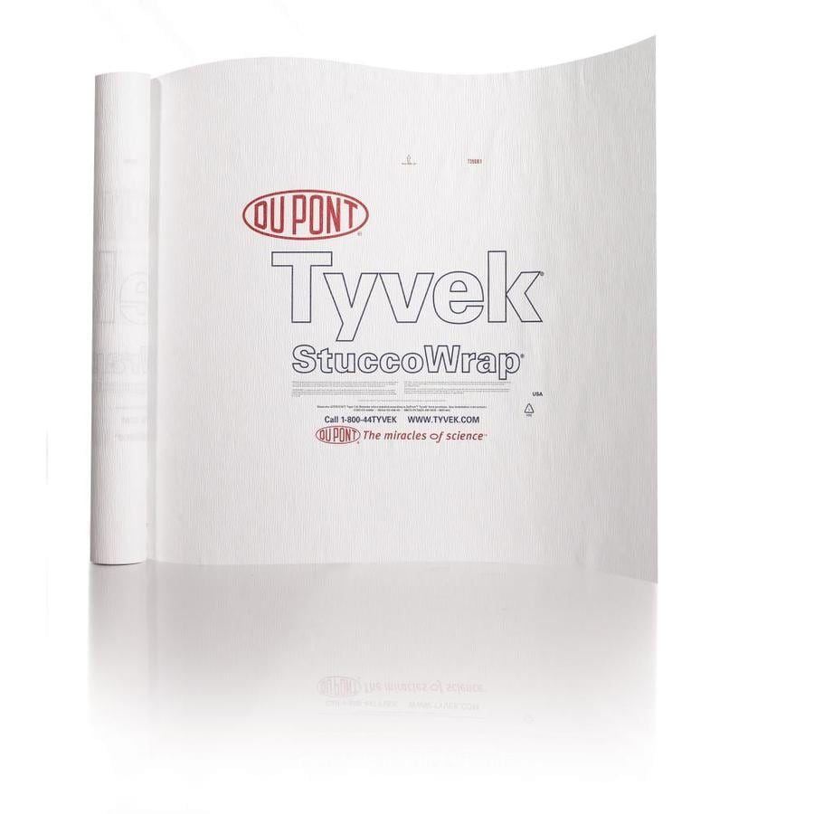 DuPont Tyvek 5-ft x 200-ft House Wrap