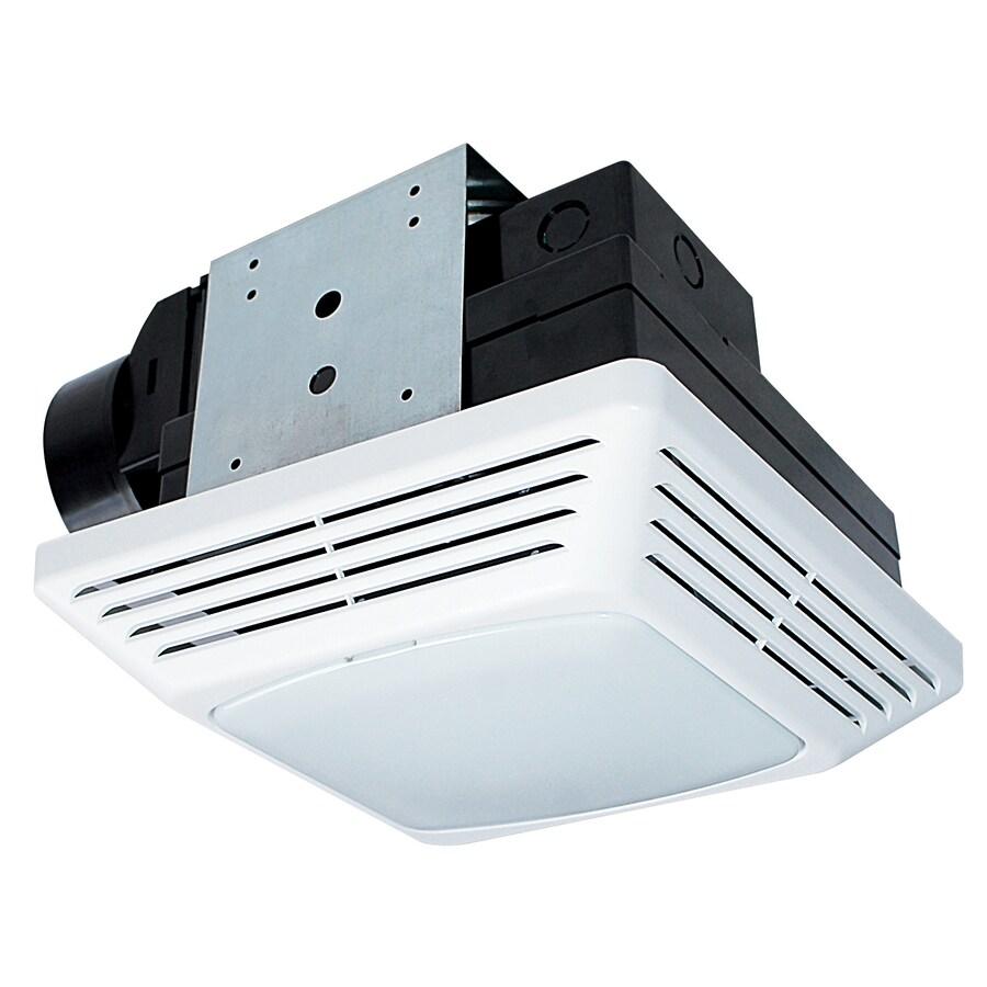 Air King 2-Sone 70-CFM White Bathroom Fan with Light ENERGY STAR