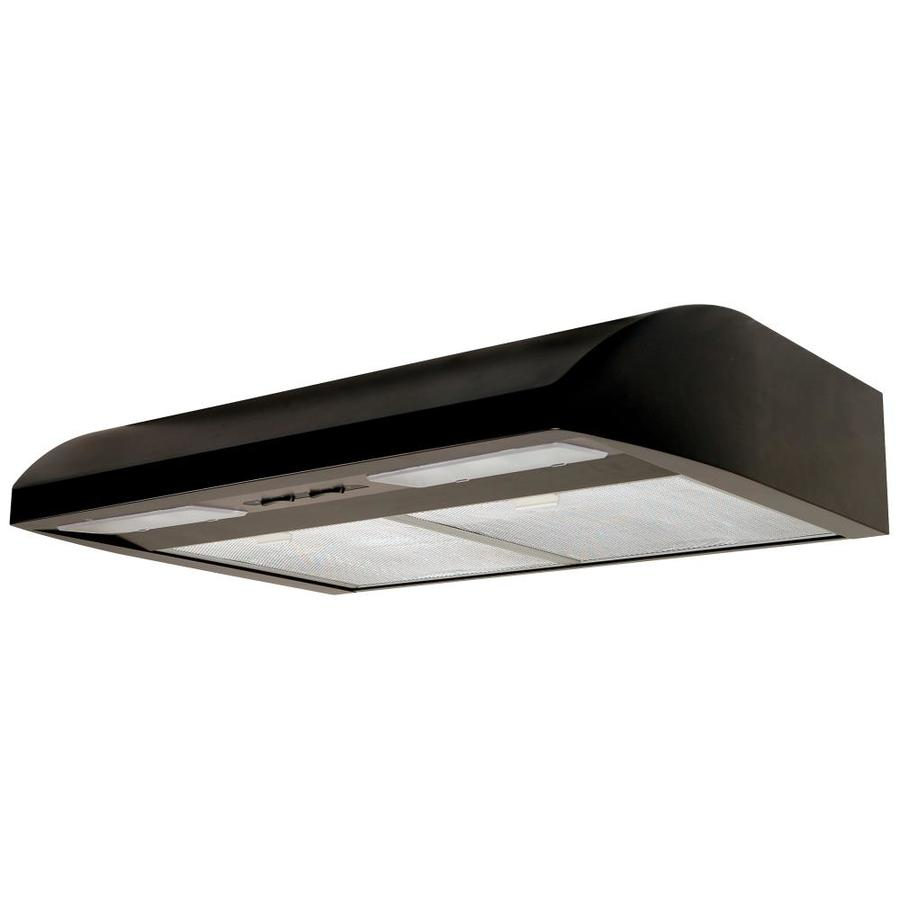 Air King Undercabinet Range Hood (Black) (Common: 30-in; Actual 30-in)
