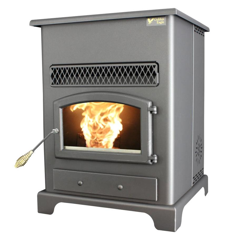 Shop Us Stove Company 2200 Sq Ft Pellet Stove At Lowes Com