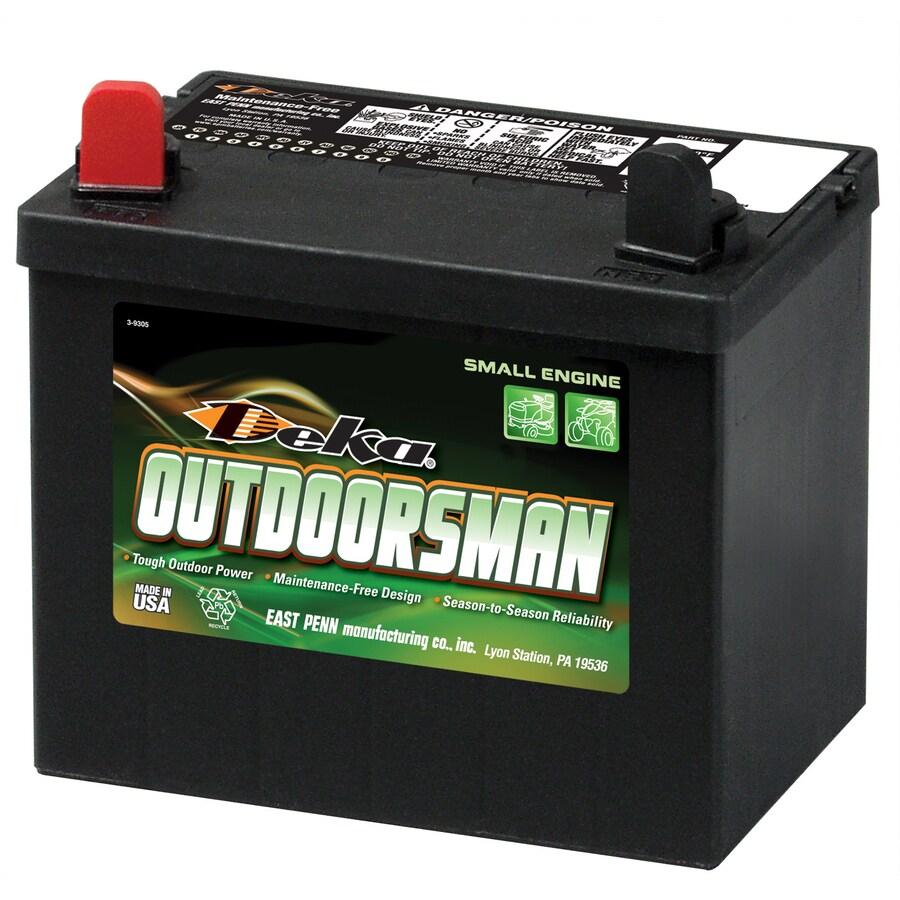 Deka 12-Volt 410-Amp Mower Battery