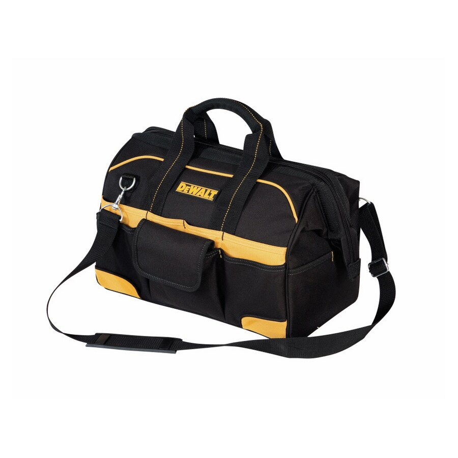 DEWALT Polyester Zippered Closed Tool Bag