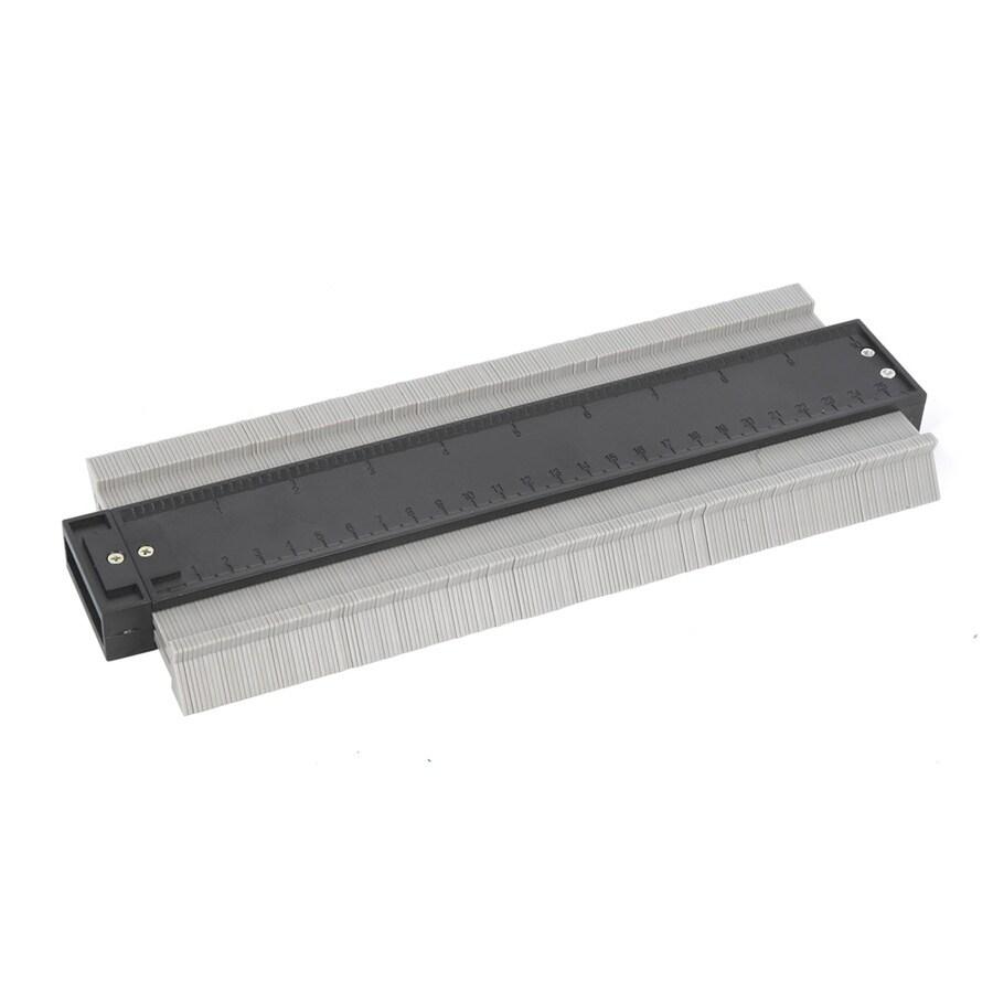 Pacesetter 4-in Gray Plastic Contour Gauge
