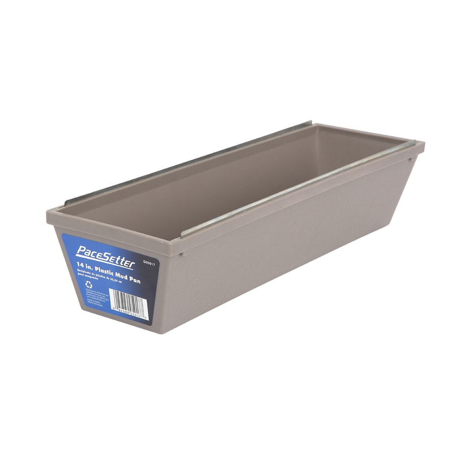 Pacesetter 4.62-in W x 15.85-in L x 3.25-in D Drywall Mud Pan