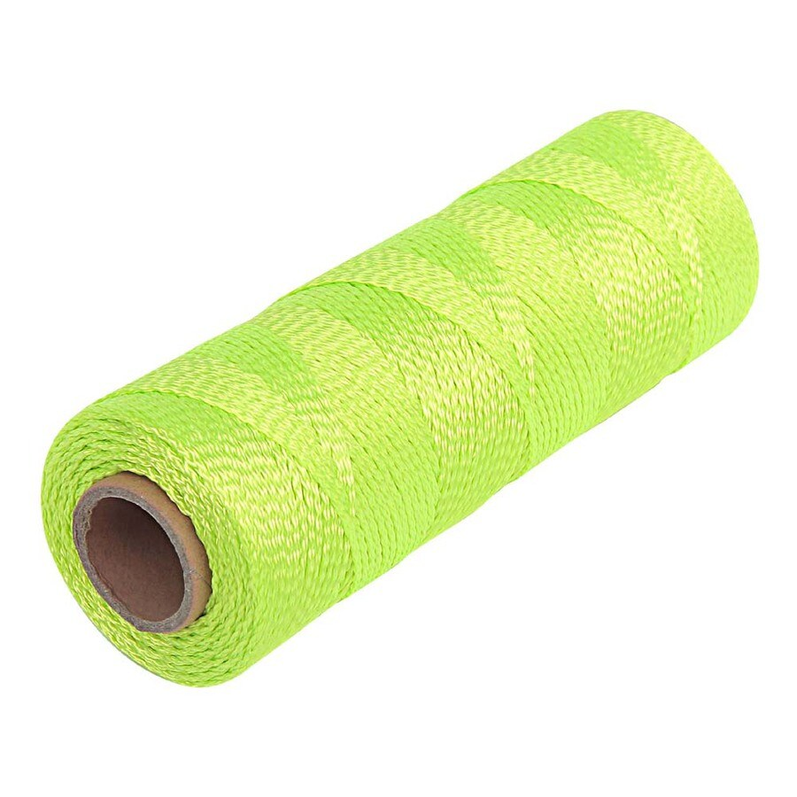 GOLDBLATT 500-ft Fluorescent Green Polyester Mason Line