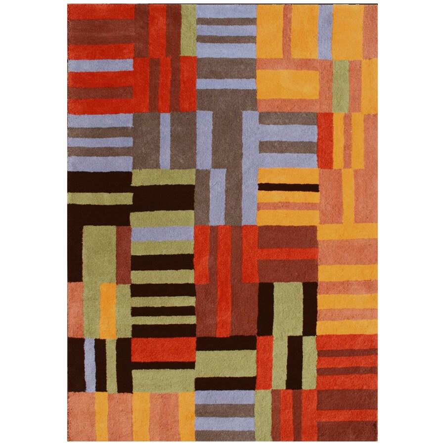 DYNAMIC RUGS Nolita Rectangular Indoor Tufted Area Rug (Common: 8 x 11; Actual: 96-in W x 132-in L)