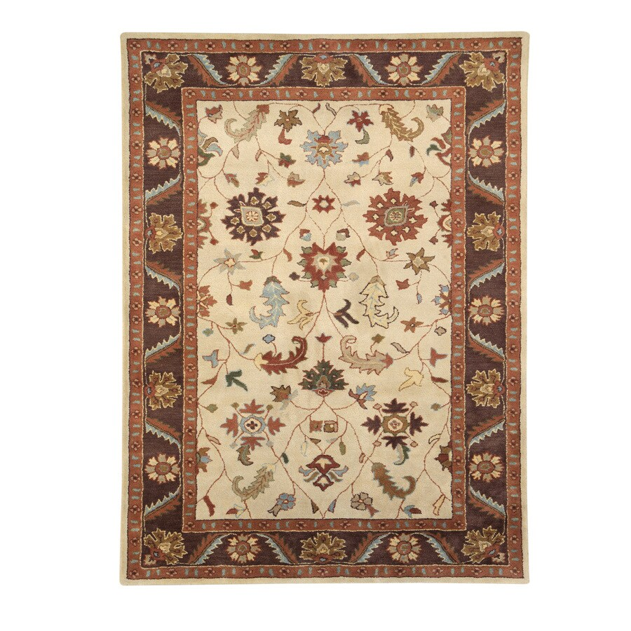DYNAMIC RUGS Charisma Rectangular Indoor Tufted Area Rug (Common: 8 x 10; Actual: 96-in W x 132-in L)