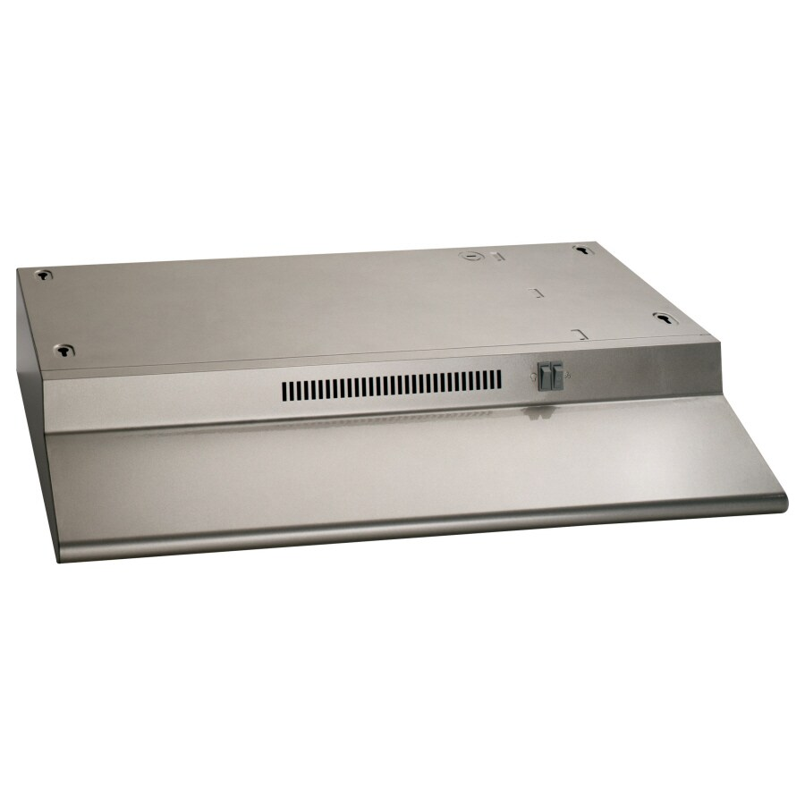 Hotpoint Undercabinet Range Hood (Silver) (Common: 30-in; Actual: 29.875-in)
