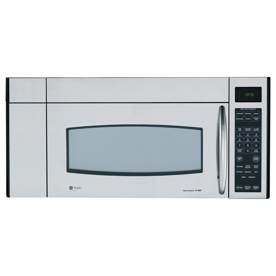 GE Profile 1.8 cu ft Over-The-Range Microwave (Stainless Steel)
