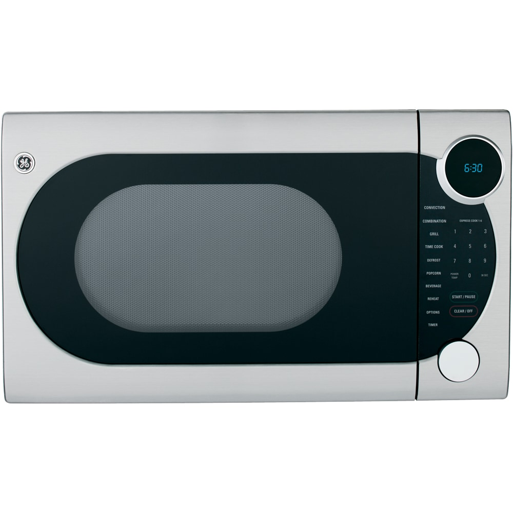 GE 1.2 Cu. Ft. Countertop Convection Microwave Oven  (Color:  Stainless)