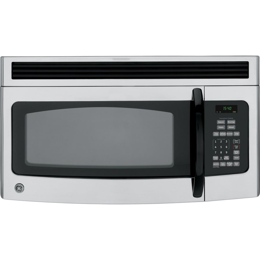 GE 1.5 cu ft Over-the-Range Microwave (Cleansteel)