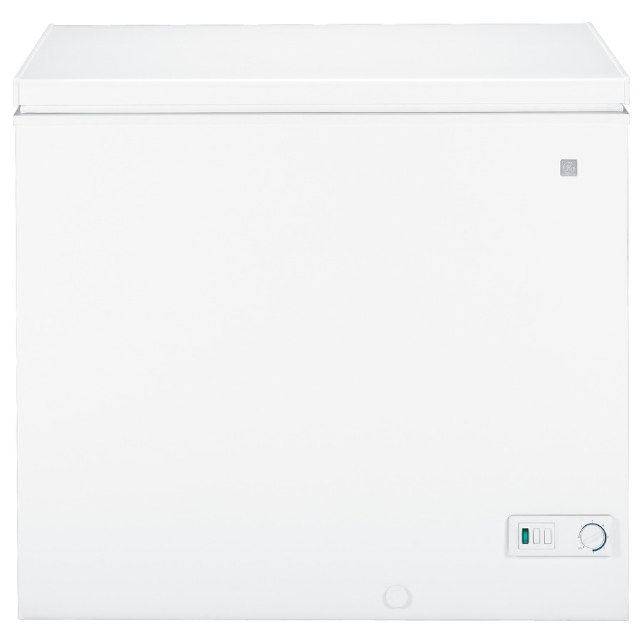 GE 7-cu ft Chest Freezer (White)