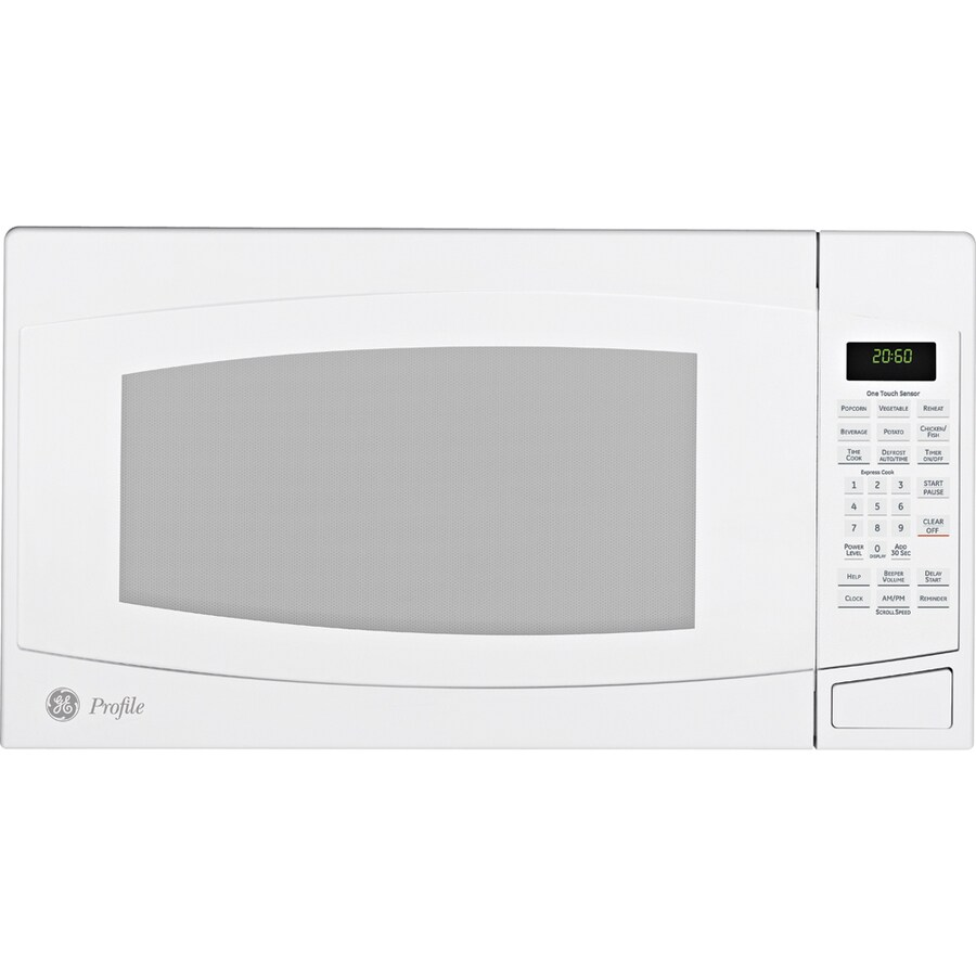GE Profile 2-cu ft 1500-Watt Countertop Microwave (White)