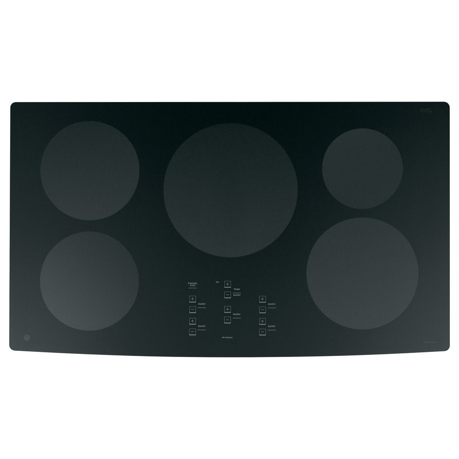GE Profile 5-Element Smooth Surface Induction Electric Cooktop (Black) (Common: 36-in; Actual: 36-in)