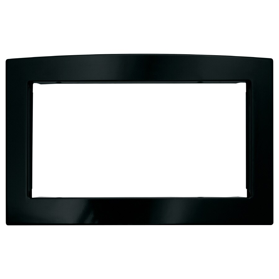 GE Black Deluxe Built-In 27-in Microwave Trim Kit