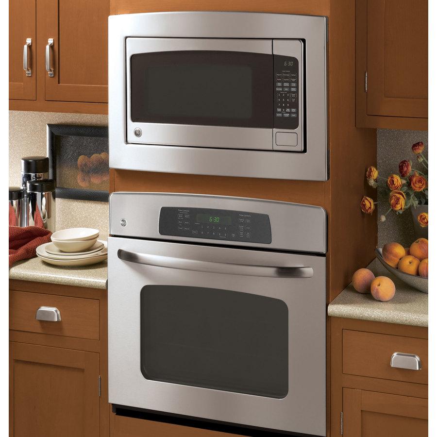 GE 30-in Stainless Steel Built-In Microwave Trim Kit