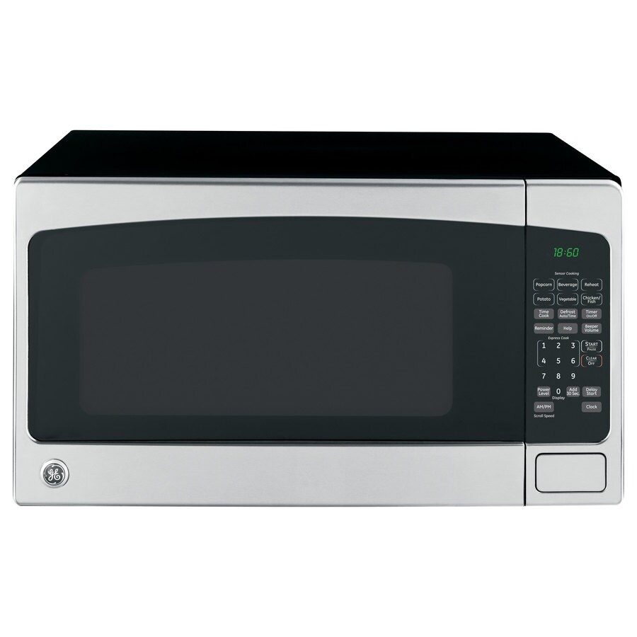 Countertop Microwave Black Stainless : ... cu ft 1,200-Watt Countertop Microwave (Stainless Steel) at Lowes.com