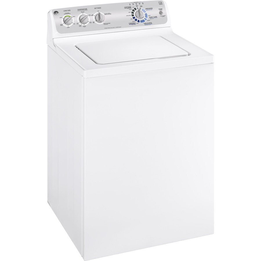 GE 3.6-cu ft Top-Load Washer (White)