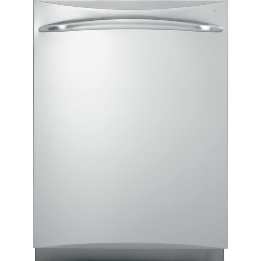 GE Profile 24-in Built-In Dishwasher with Hard Food Disposer and Stainless Steel Tub (Stainless Steel) ENERGY STAR