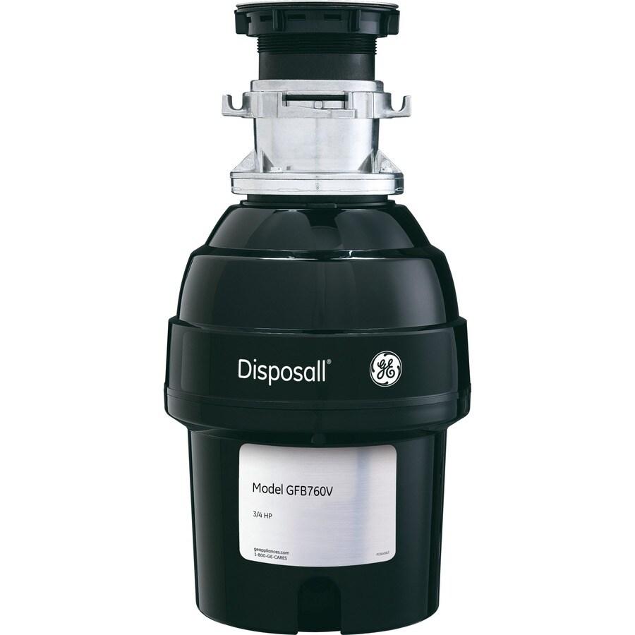 GE 3/4-Hp Noise Insulation Garbage Disposal