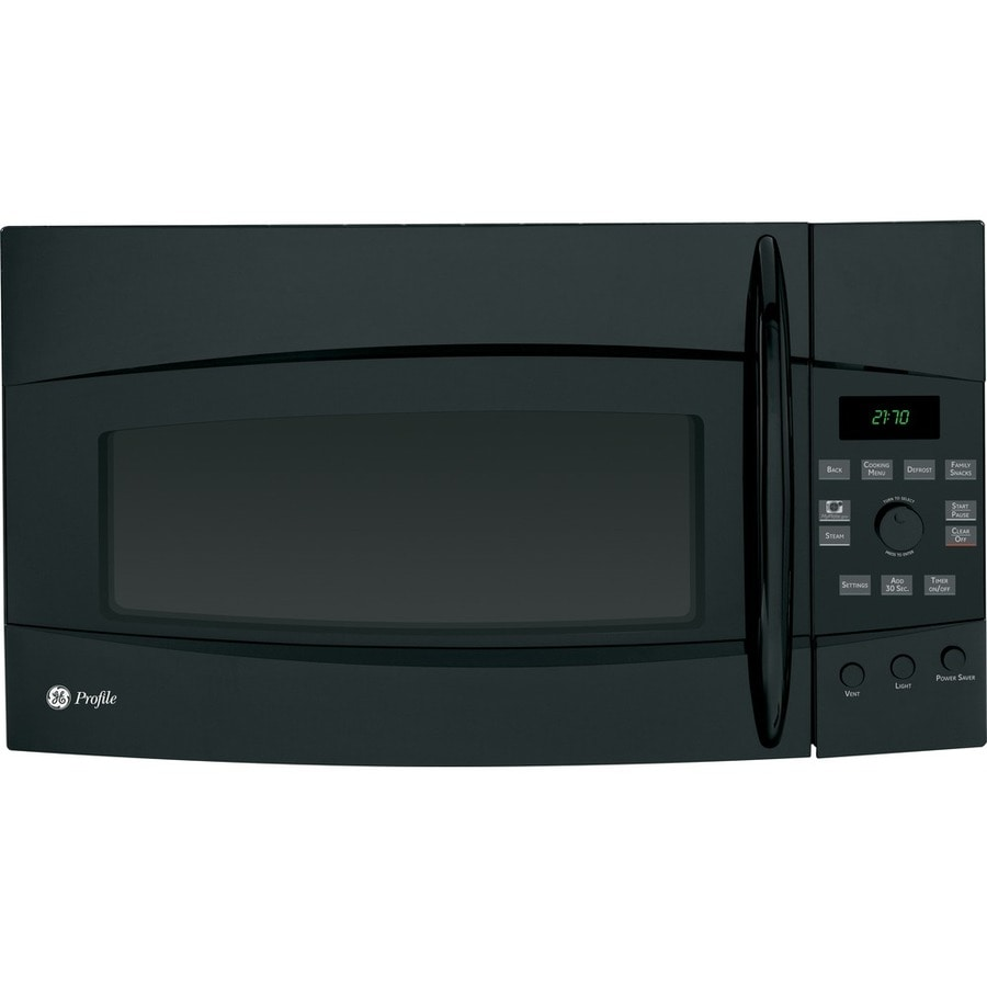 GE Profile 2.1 cu ft Over-the-Range Microwave (Black)