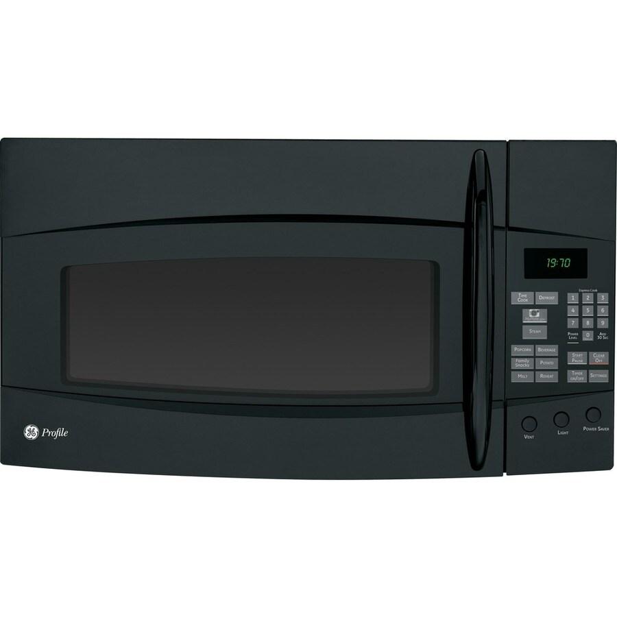 GE Profile 1.9 cu ft Over-the-Range Microwave (Black)