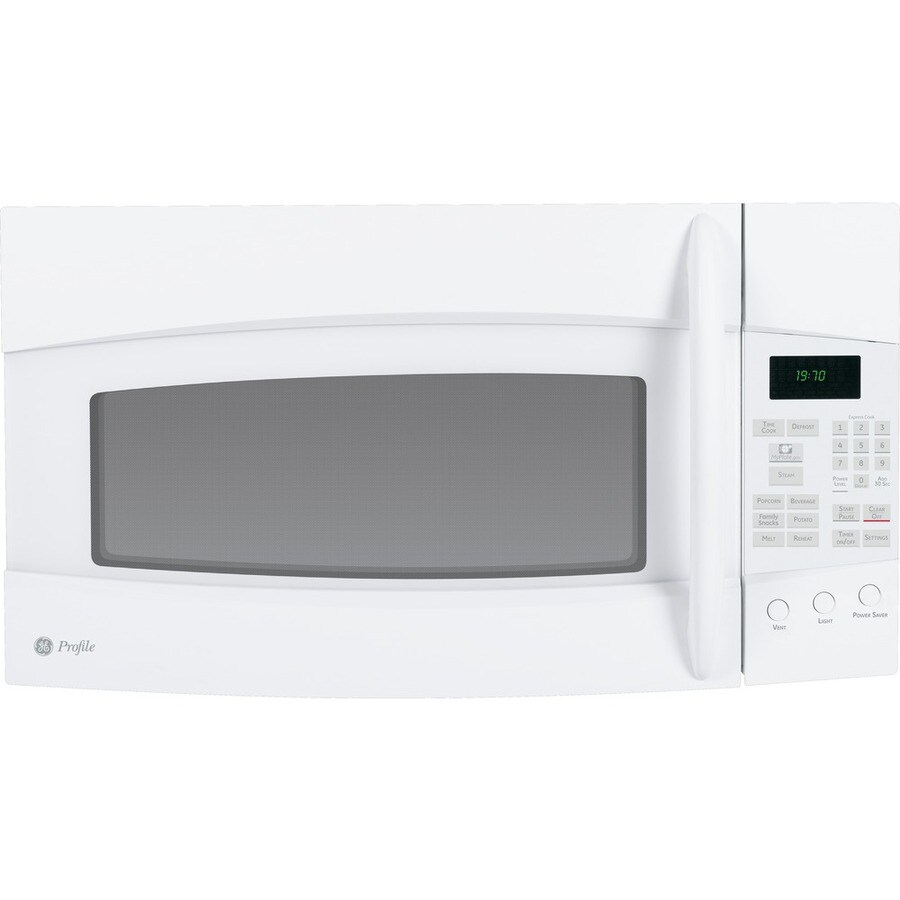 GE Profile 1.9 cu ft Over-the-Range Microwave (White)