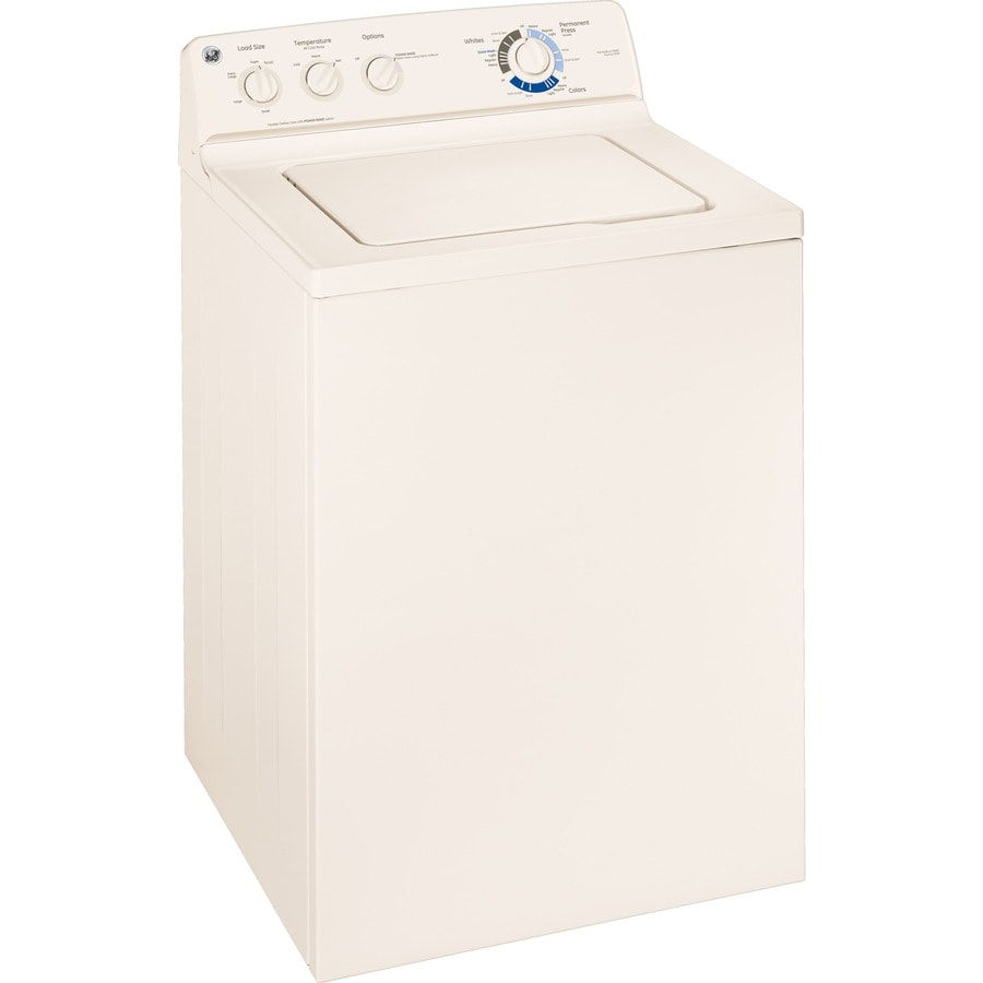 GE 3.7-cu ft Top-Load Washer (Bisque)