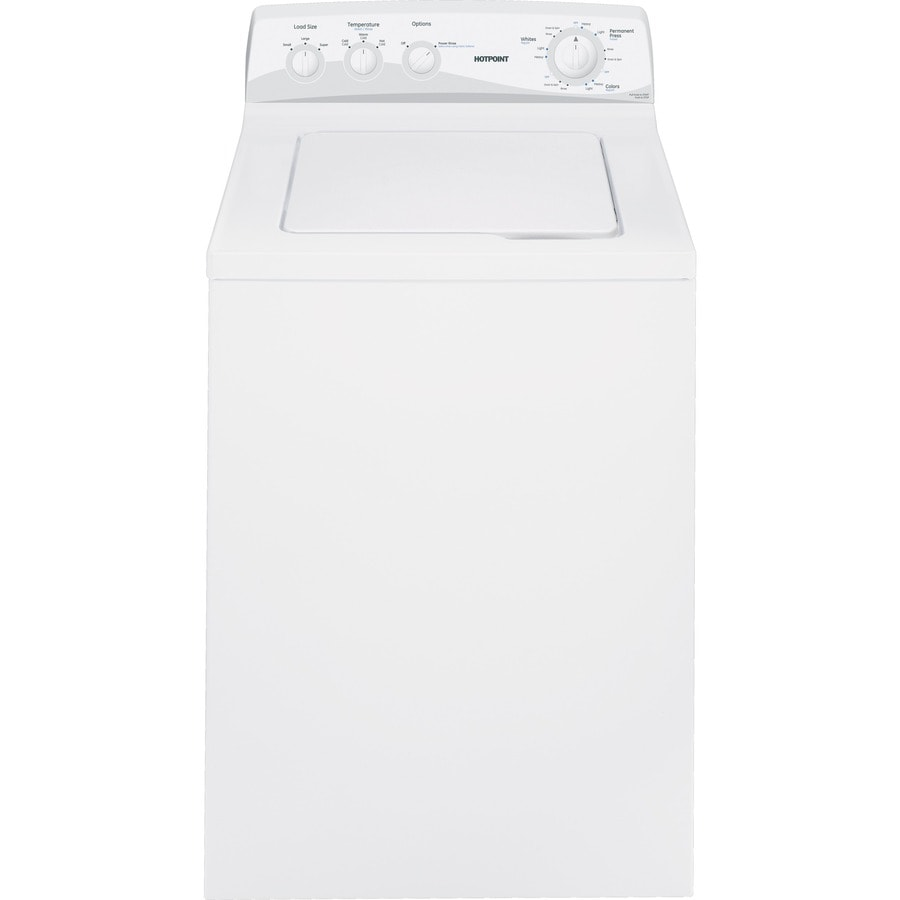 Hotpoint 3.5-cu ft Top-Load Washer (White)