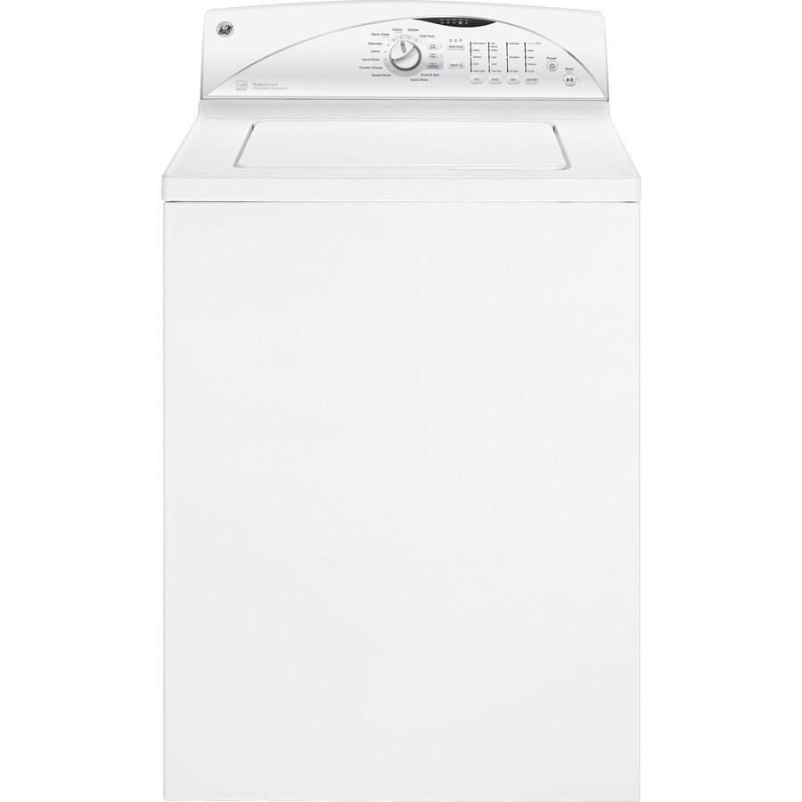 GE 3.9 cu ft Top-Load Washer (White) ENERGY STAR