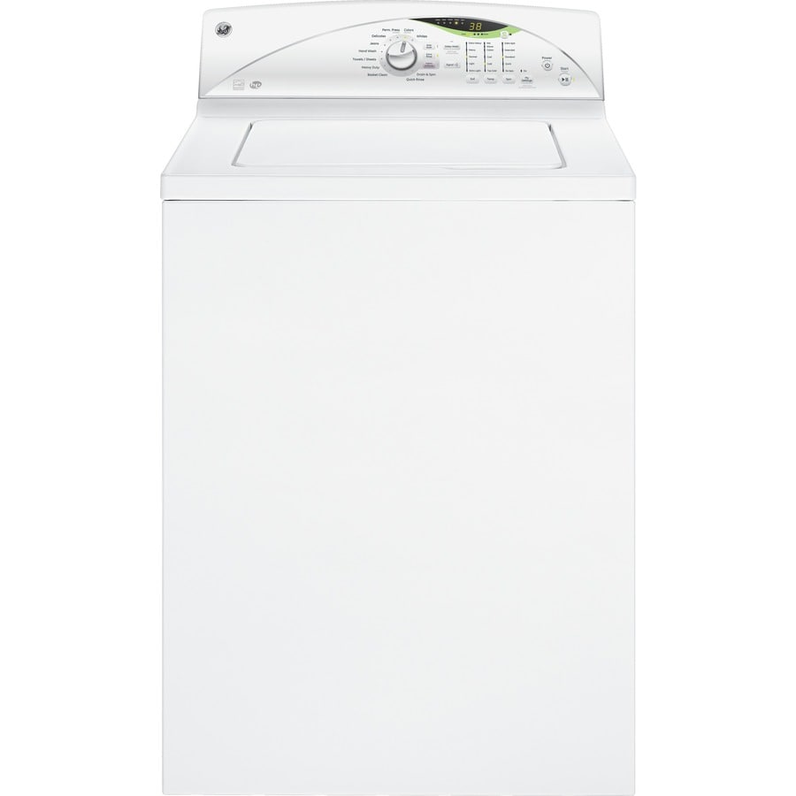 GE 4 cu ft High-Efficiency Top-Load Washer (White) ENERGY STAR