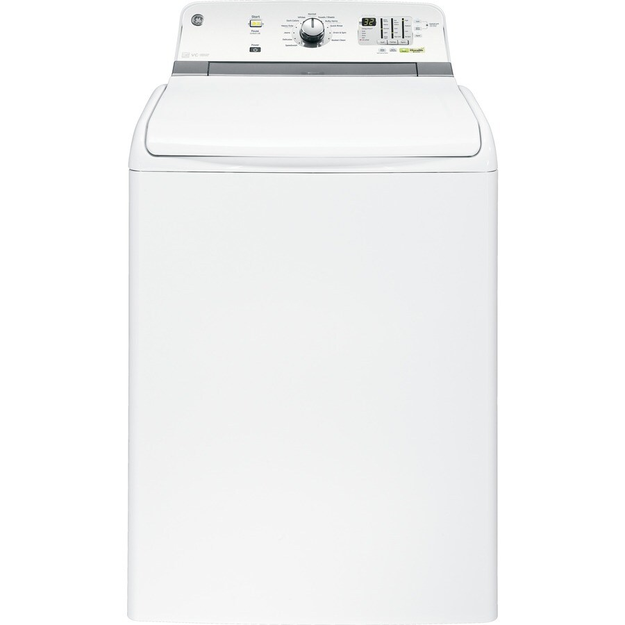 GE 4.6-cu ft High-Efficiency Top-Load Washer (White) ENERGY STAR
