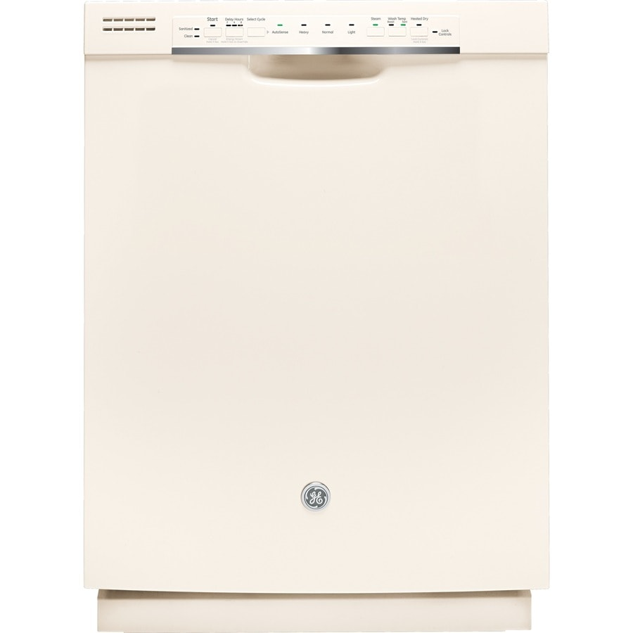 GE 54-Decibel Built-In Dishwasher with Hard Food Disposer (Bisque) (Common: 24-in; Actual: 23.75-in)