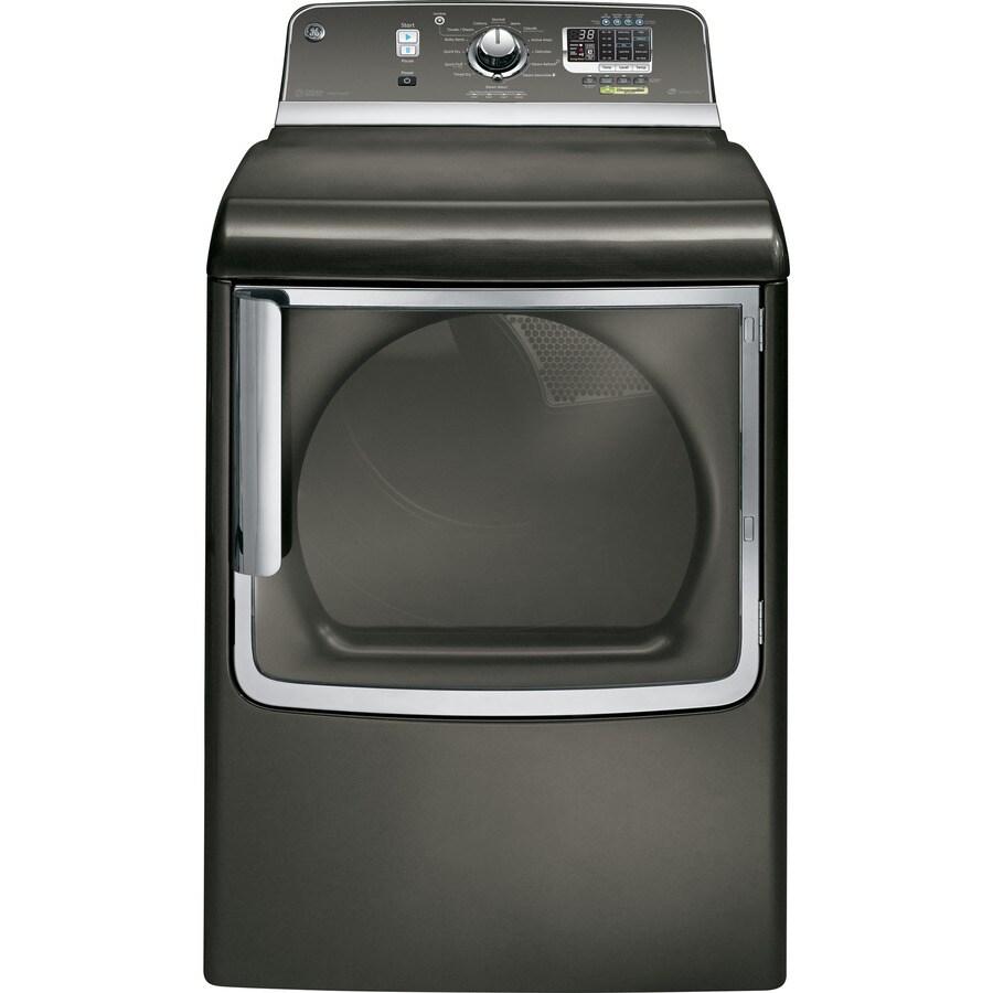 GE 7.8-cu ft Gas Dryer (Metallic Carbon)
